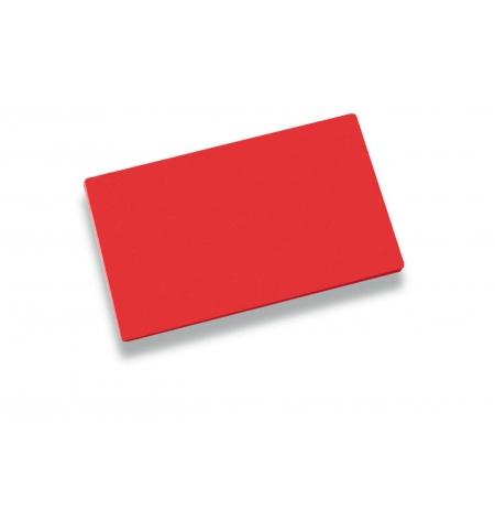Deska krájecí 40x30x2cm červená, PE HD 500