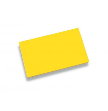 Deska krájecí 40x30x2cm žlutá, PE HD 500