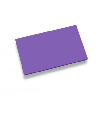 Deska krájecí 60x40x2cm fialová, PE HD 500