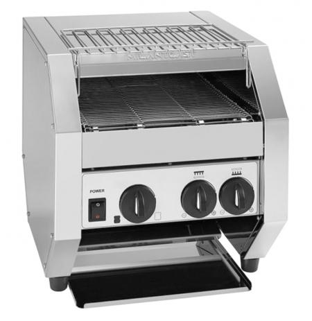 Toaster průběžný MilanToast 018061, 3 tousty, plně volitelný