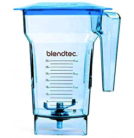 Nádoba FourSide 2Q DBR 4stranná, BPA-free, modrá, víko HARD
