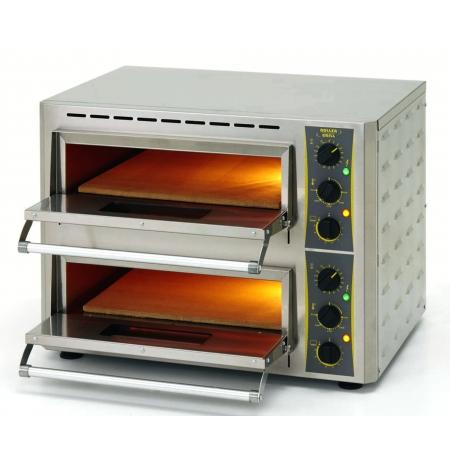 Pec na pizzu PZ 430 D - elektrická, dvoupatrová