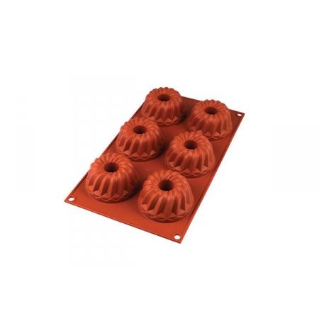 Forma silikonová skupinová 6x BÁBOVKA