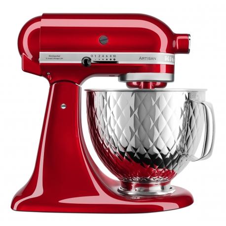 Robot kuchyňský KitchenAid Artisan 5KSM156QPECA LIMITKA, nerezová prošívaná nádoba 4,8 Ltr.