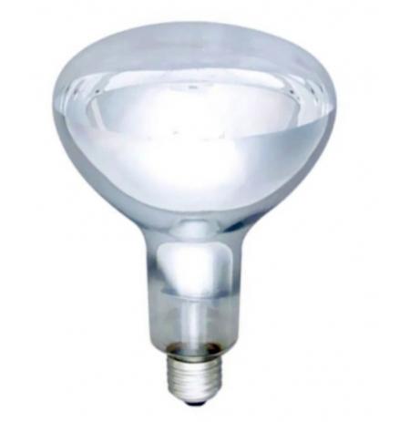 Infražárovka E27/250W/230 V (bílá)