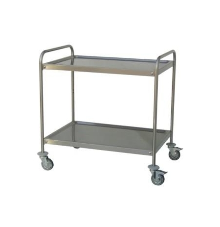 Servírovací vozík se dvěmi policemi 1200 x 600 mm