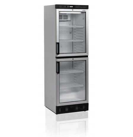 Chladicí skříň dvoudveřová s prosklenými dveřmi Tefcold FS 2380