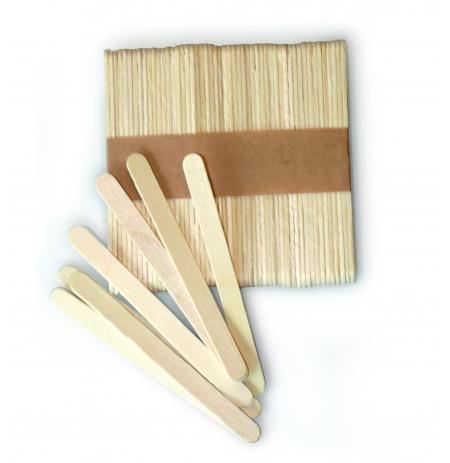 Špejle dřevěné na velké nanuky, sada 500 ks