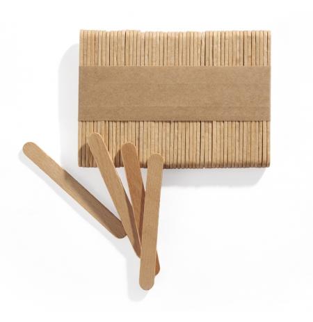 Špejle dřevěné na MINI nanuky, sada 500 ks