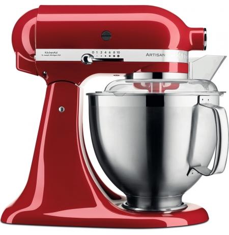 Robot kuchyňský Artisan KitchenAid 5KSM185 královská červená 4,83 ltr.