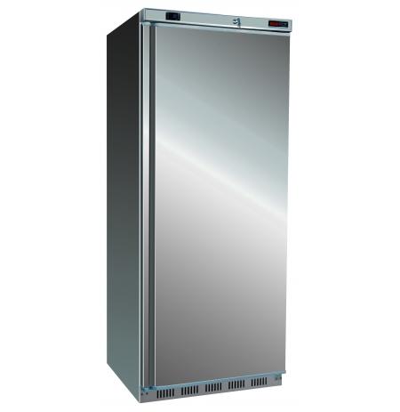 Skříň mrazící DF 600 S, nerezové opláštění, statické chlazení