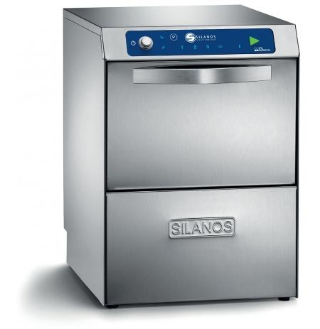 Myčka nádobí a skla SILANOS dvouplášťová DS D50-32-DBS 400V s odpadovým čerpadlem