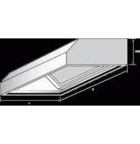 Digestoř nástěnná, rozměr (d x š): 1300 x 900 mm