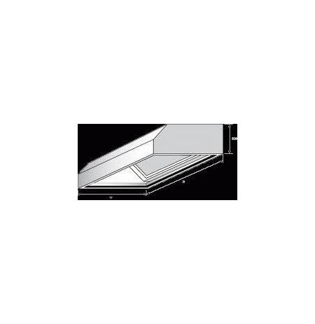 Digestoř nástěnná, rozměr (d x š): 2300 x 1100 mm