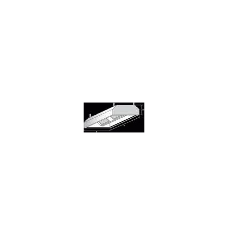 Digestoř závěsná, rozměr (d x š): 1000 x 1400 mm