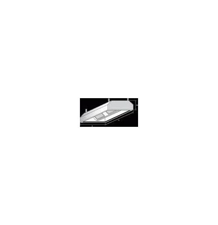 Digestoř závěsná, rozměr (d x š): 1400 x 1400 mm
