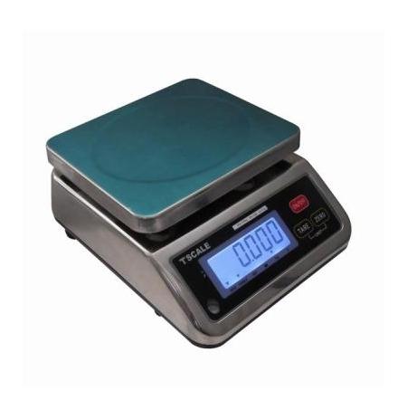 Váha stolní nerezová voděodolná do 6 kg, 15 kg TSS29B Sirman