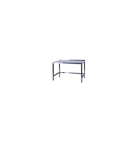 Pracovní stůl nerezový nad lednice, rozměr (d x š): 700 x 700 x 900 mm