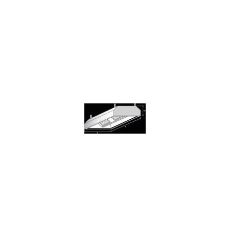 Digestoř závěsná, rozměr (dxš): 1100 x 1800 mm