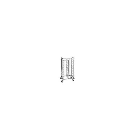 Regálový nerez vozík TAW 20 pro manipulaci s jídelními podnosy GN 1/1, EN